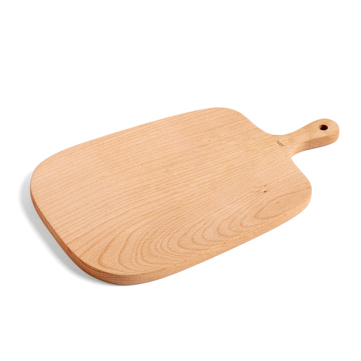 Plank cutting and serving board M 33 x 20 cm by Hay made of beech wood