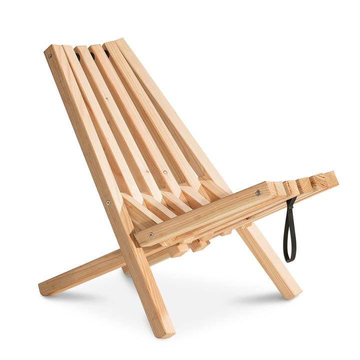 Fieldchair made of larch wood by Weltevree
