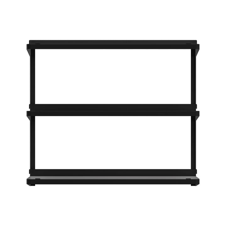 Click shelving system 710 × 210 × 610 mm by New Tendency in black