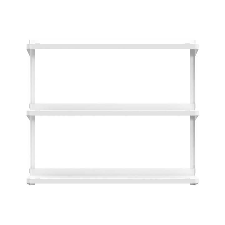 Click shelving system 710 × 210 × 610 mm from New Tendency in white