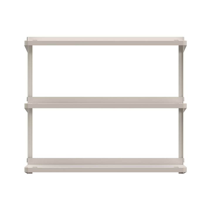 Click shelving system 710 × 210 × 610 mm from New Tendency in sand