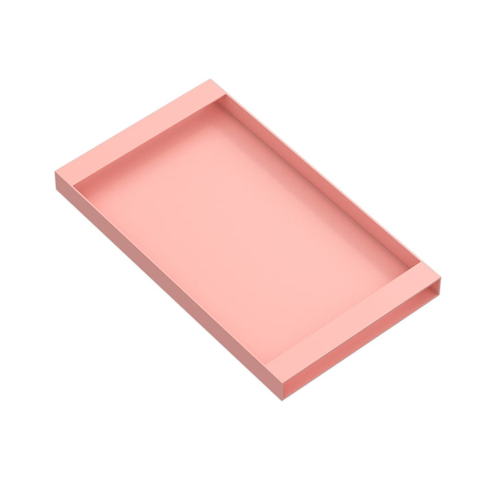 Torei serving tray 320 × 185 × 25 mm of New Tendency in pink