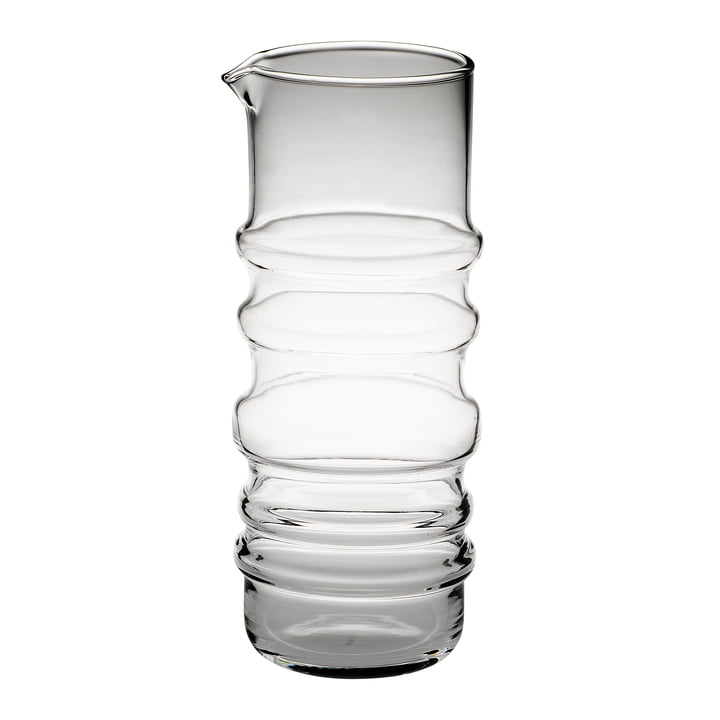 Succat Makkaralla carafe 1 l of Marimekko in clear