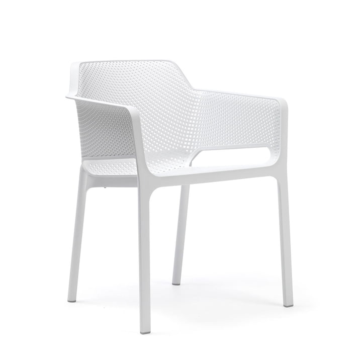 Net armchair by Nardi in white