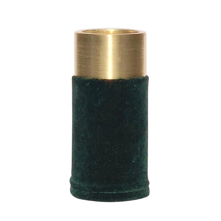 VertiHygge Vase / Tealight holder from Verti Copenhagen in dark green