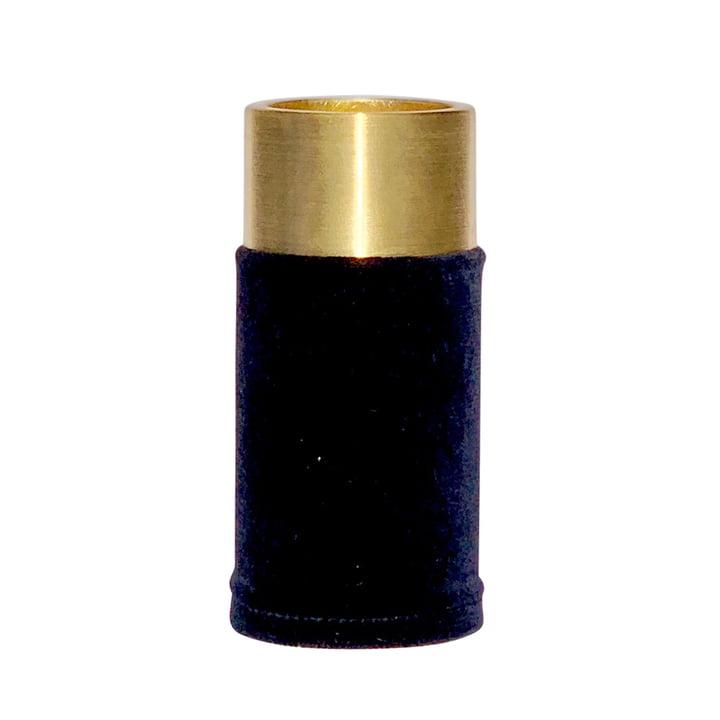 VertiHygge Vase / Tealight Holder by Verti Copenhagen in dark blue