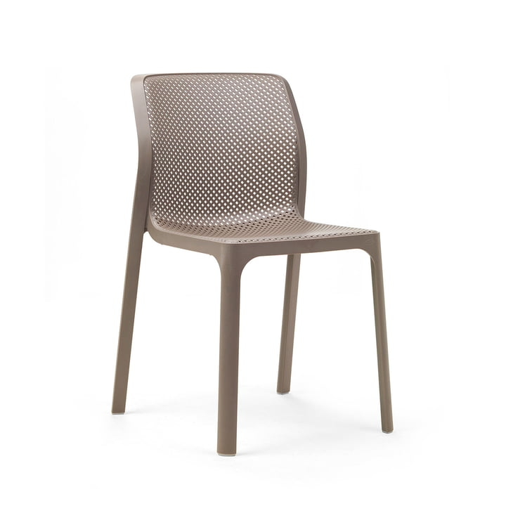 The Bit chair in tortora by Nardi