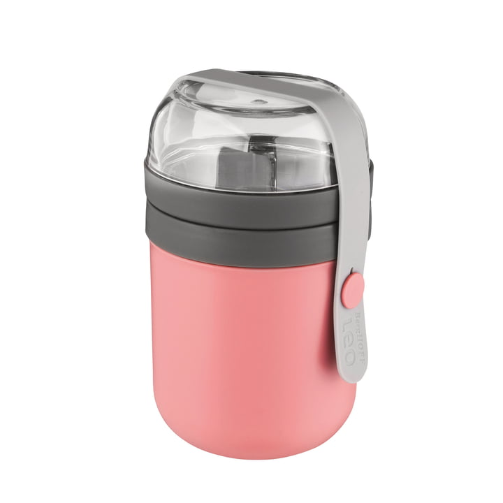 Leo lunch box from Berghoff in pink