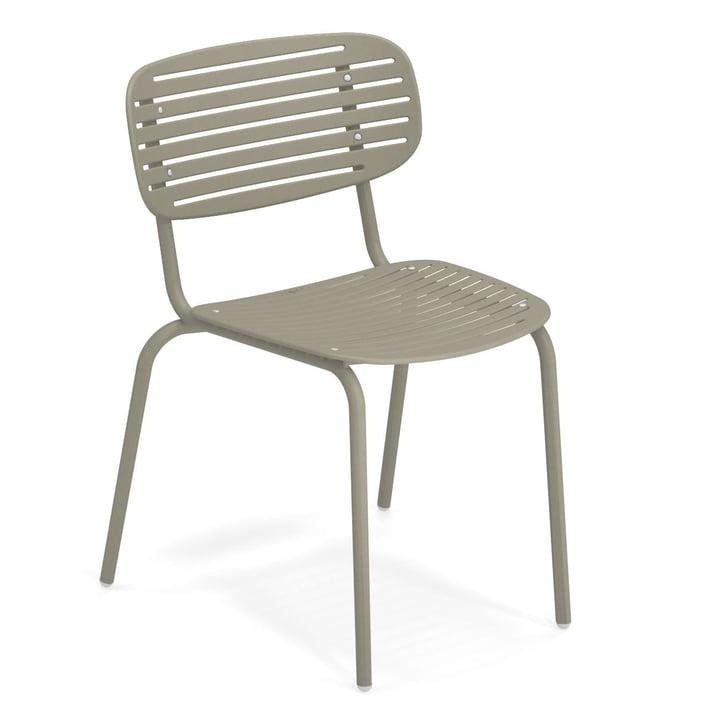 Mom chair in grey-green by Emu