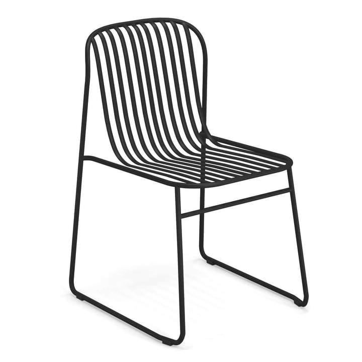 Riviera chair in black by Emu