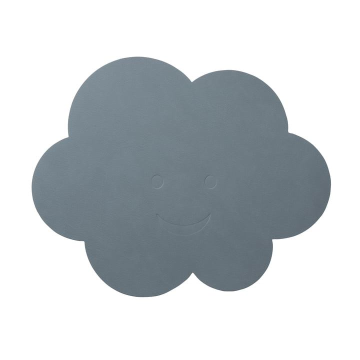 Children's table set cloud of LindDNA in Nupo light blue