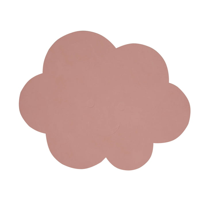 Children's table set cloud of LindDNA in Nupo rose