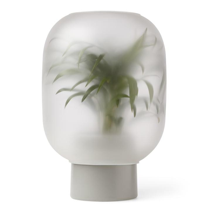 Nebl Vase mega, Ø 38 x H 44,2 cm in grey by Gejst