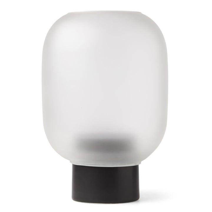 Nebl Vase mega, Ø 38 x H 44,2 cm in black by Gejst