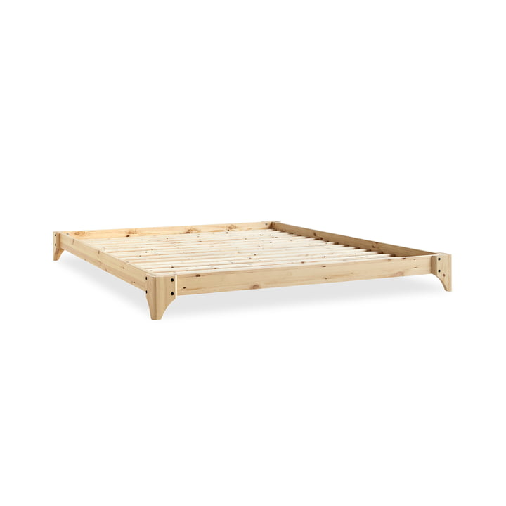 Elan bed, 140 x 200 cm in nature by Karup