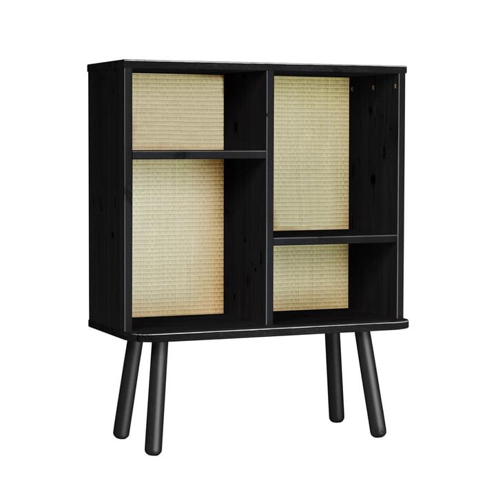 Kyabi shelf in black by Karup