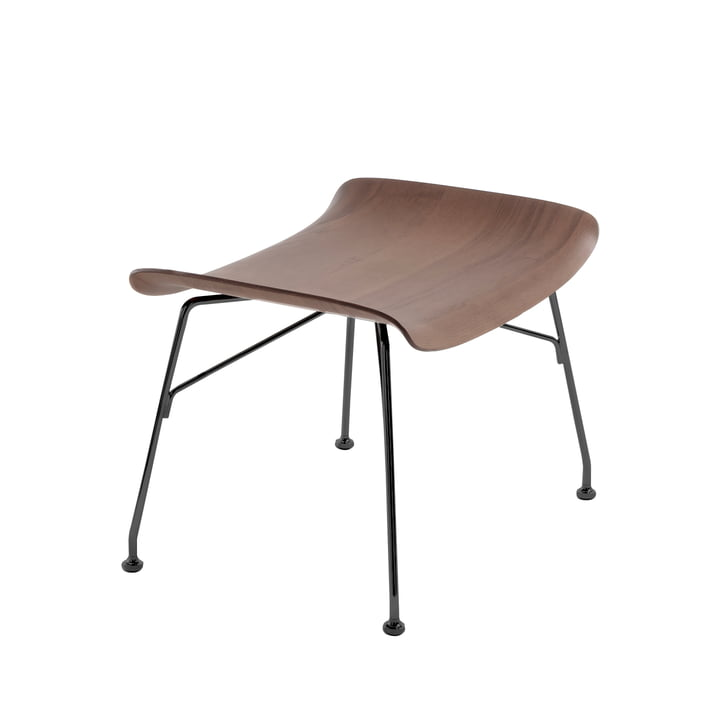 S/Wood stool from Kartell in black / dark