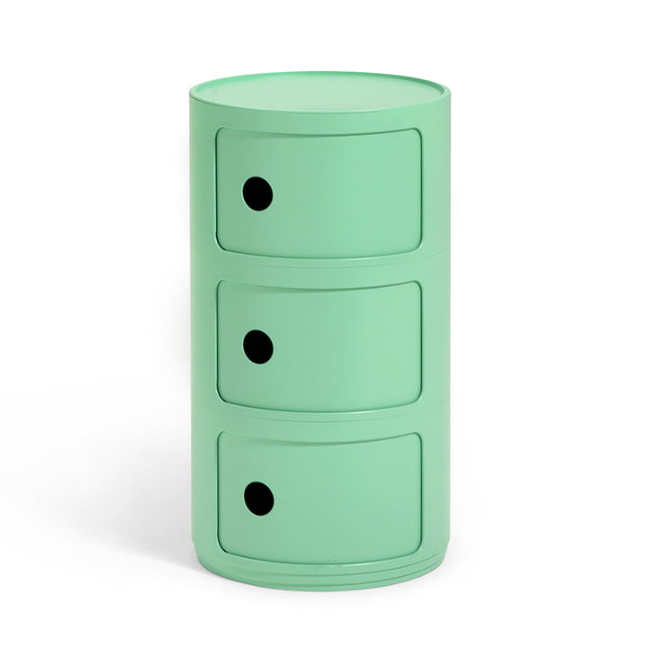 Componibili Bio 5970 by Kartell in green