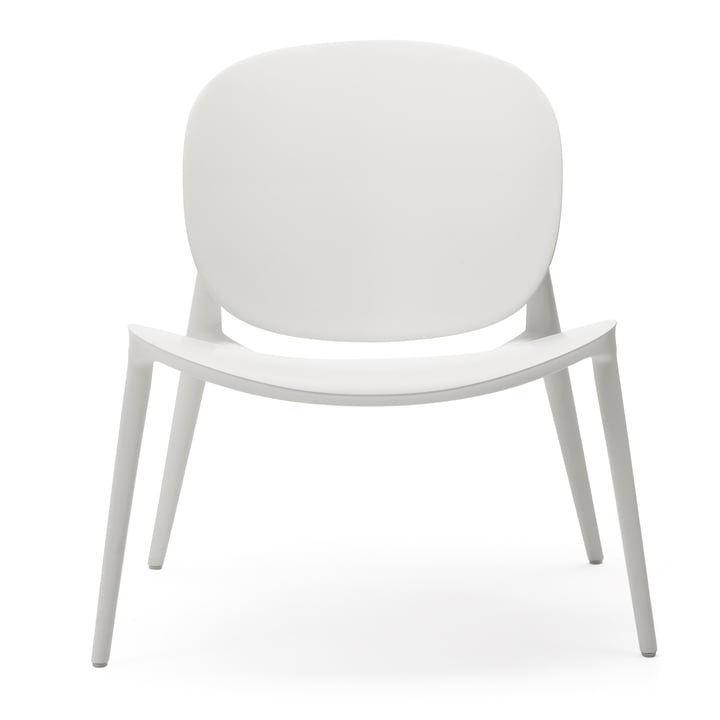 Be Bop armchair from Kartell in white matt