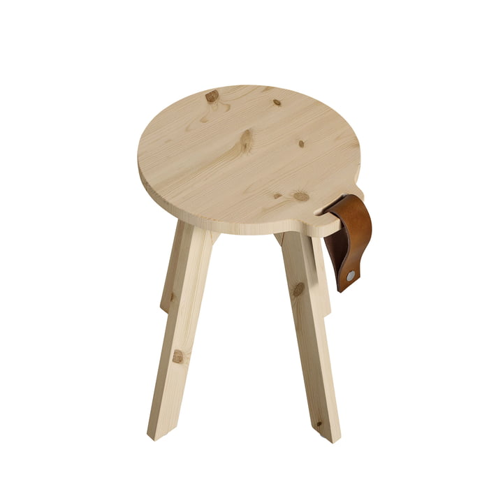 Country stool / side table Ø 40 x H 45 cm from Karup in nature