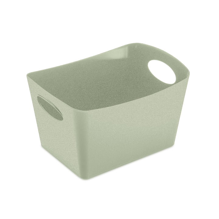 Boxxx S Storage box in organic green from Koziol