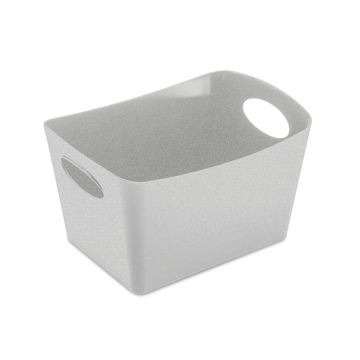 Boxxx S Storage box in organic grey by Koziol