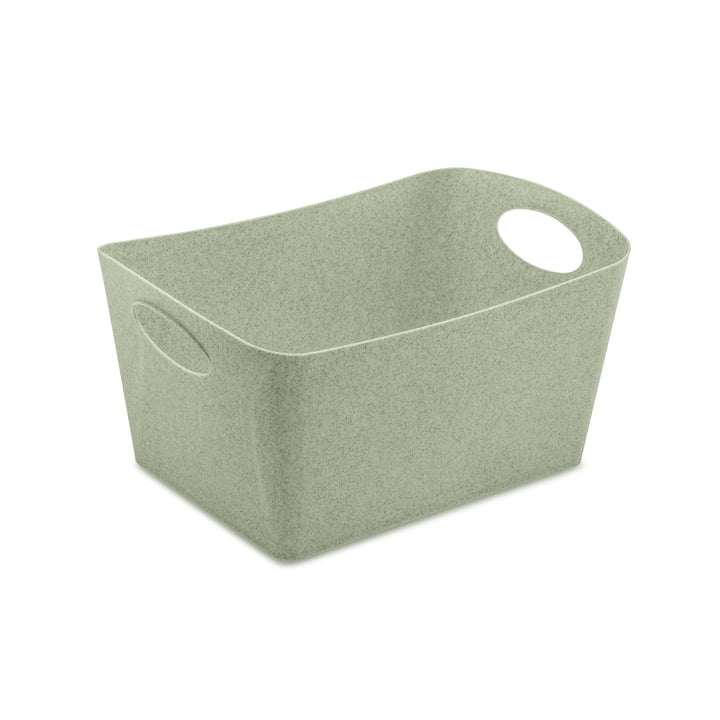Boxxx M Storage box in organic green by Koziol