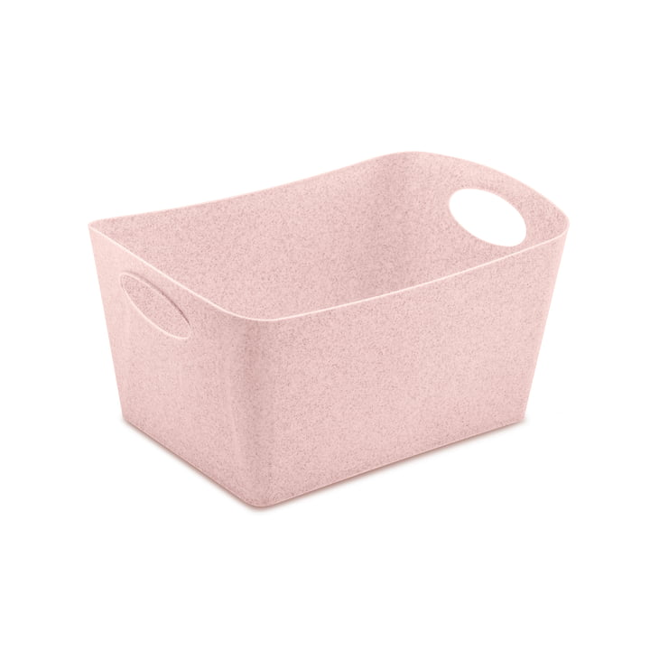 Boxxx M Storage box in organic pink by Koziol
