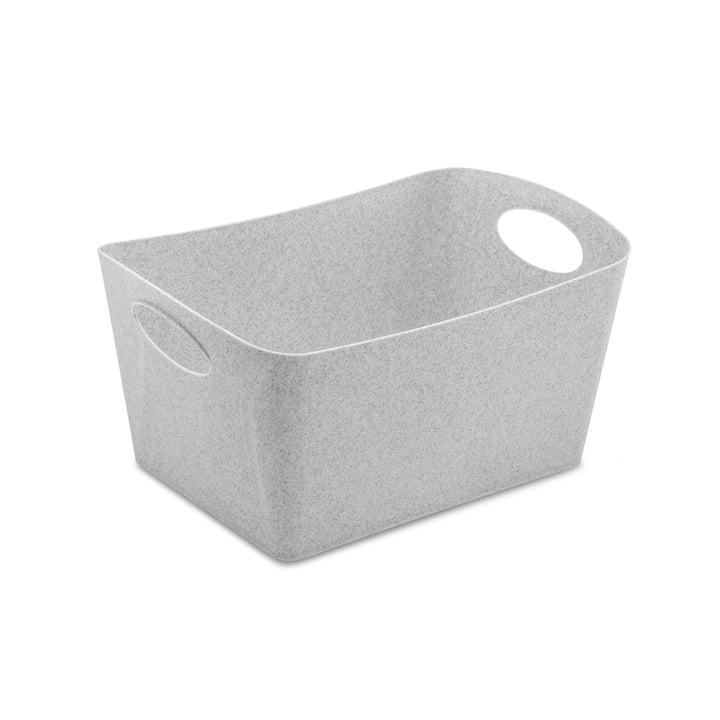 Boxxx M Storage box in organic grey by Koziol