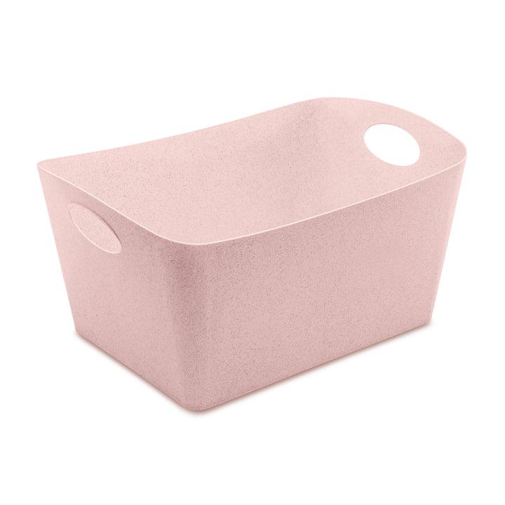 Boxxx L Storage box in organic pink by Koziol