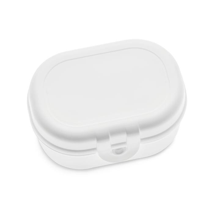 Pascal Mini Lunchbox, cotton white by Koziol
