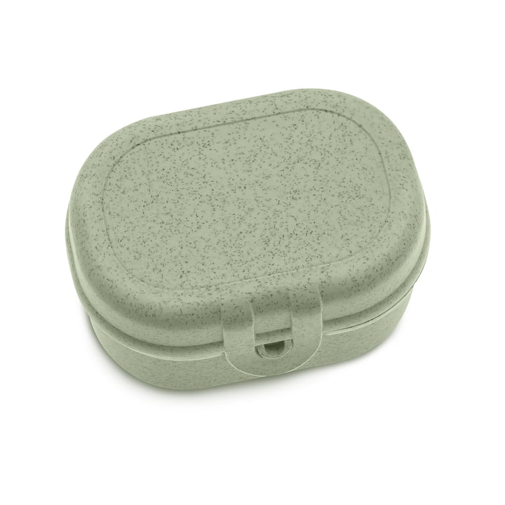 Pascal Mini lunchbox in organic green by Koziol