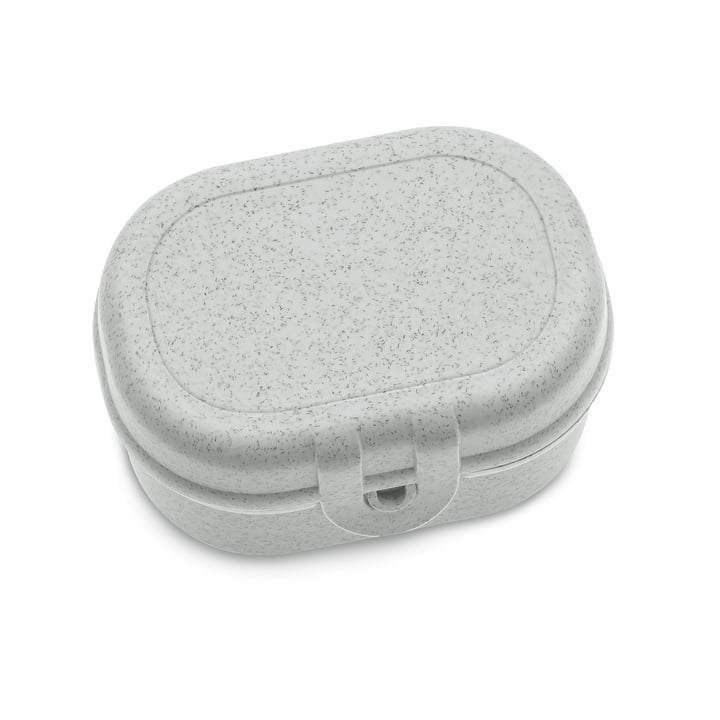 Pascal Mini lunchbox in organic grey by Koziol