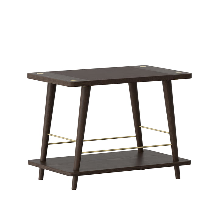 Convenience bench / shelf from Umage in oak dark / black