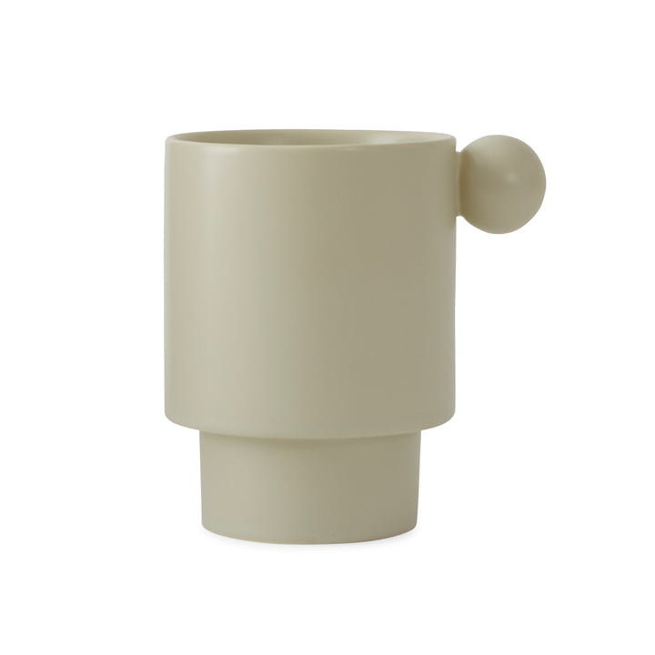 Inca cup from OYOY in off-white