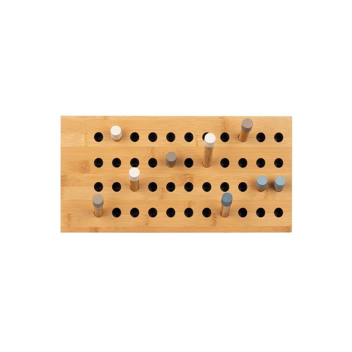 Scoreboard wardrobe small horizontal by We Do Wood in bamboo nature