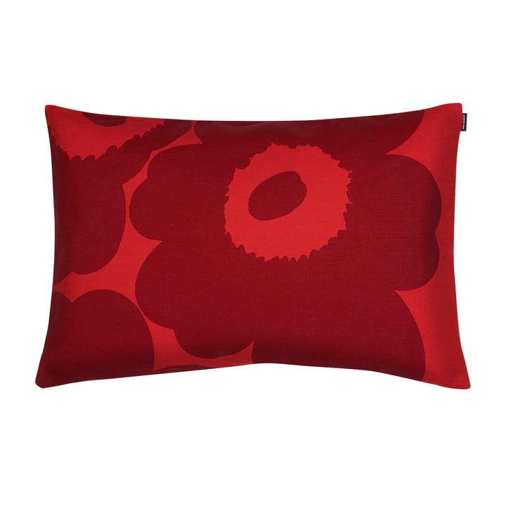 Unikko cushion cover 40 x 60 cm from Marimekko in red / dark red