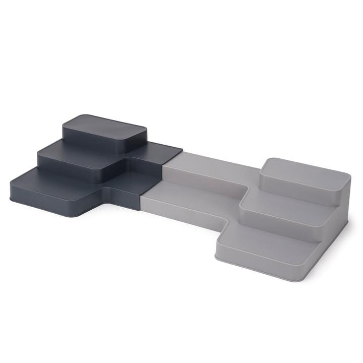 CupboardStore Organizer Staircase by Joseph Joseph in dark grey / grey