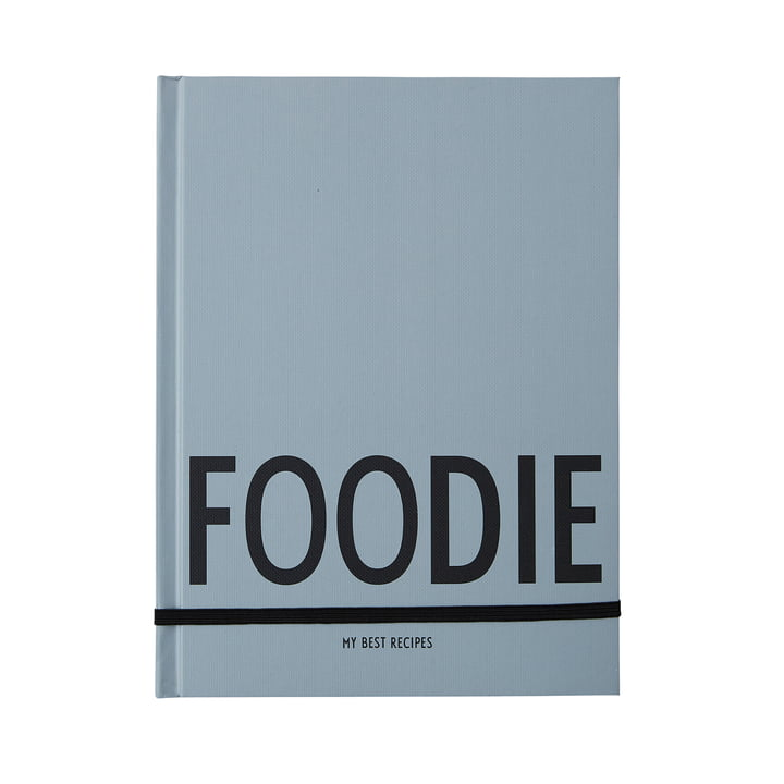 Foodie recipe book by Design Letters