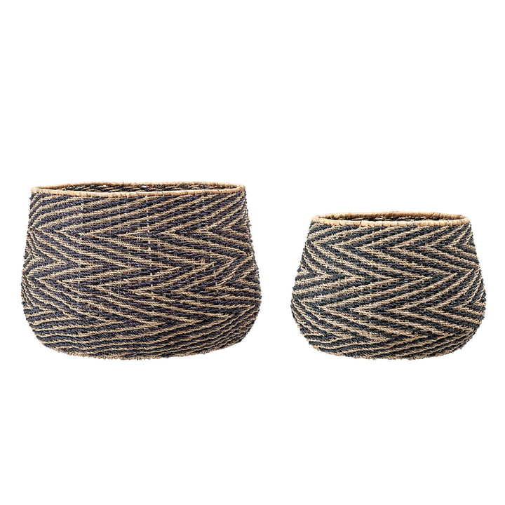 Seaweed basket (set of 2) from Bloomingville