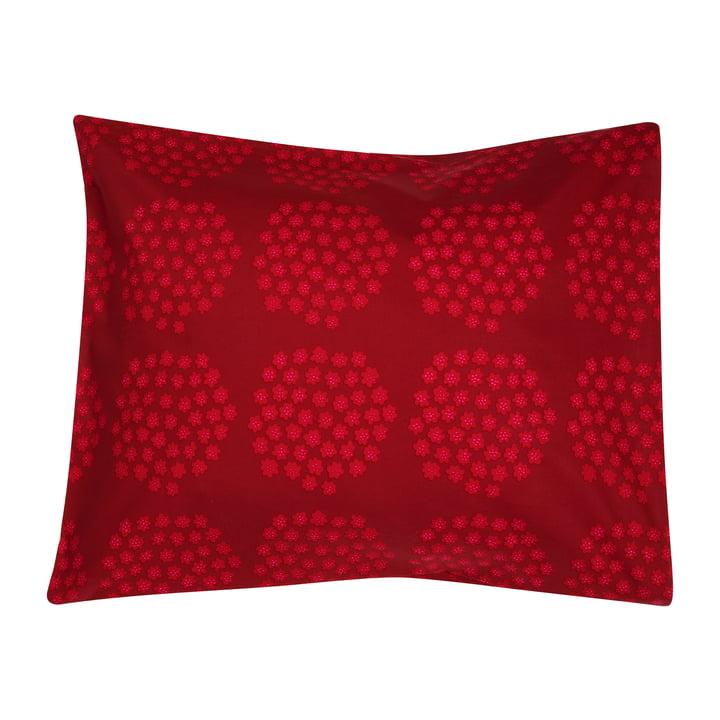 Puketti pillowcase 65 x 65 cm from Marimekko in red / dark red