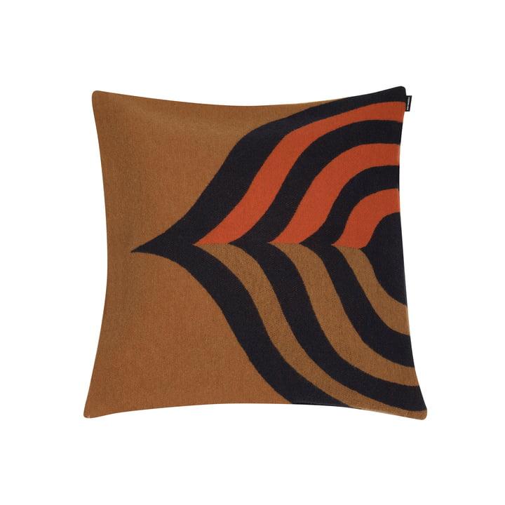 Keisarinkruunu cushion cover 50 x 50 cm from Marimekko in brown / black / orange