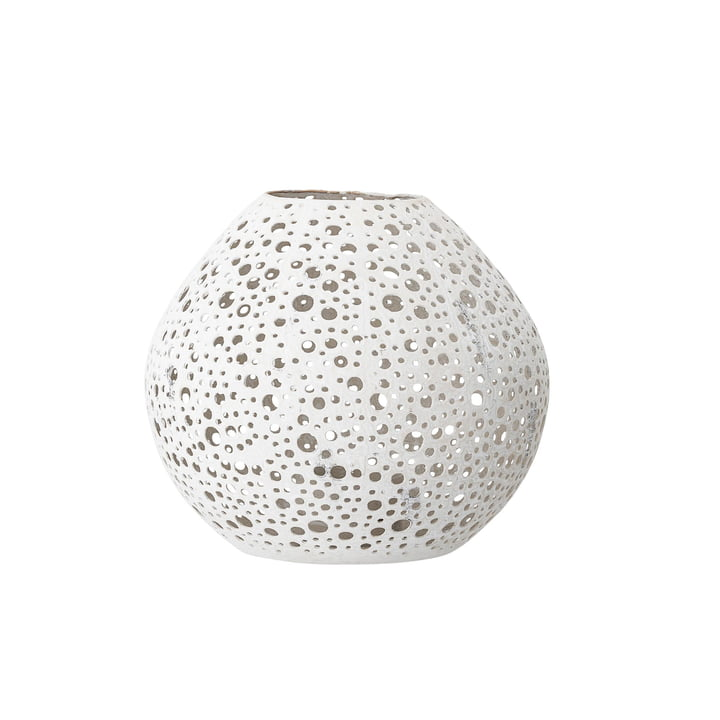 Motif Lantern Ø 15 x H 15 cm from Bloomingville in white