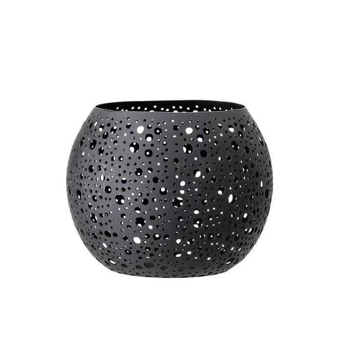 Motif Lantern Ø 15 x H 15 cm from Bloomingville in black