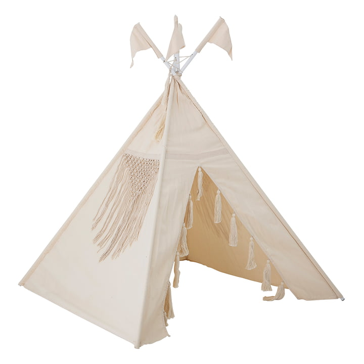 Children tipi tent from Bloomingville in nature