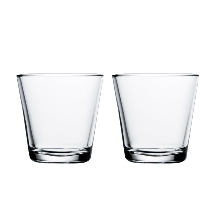 Kartio drinking glass 21 cl (set of 2) from Iittala in clear