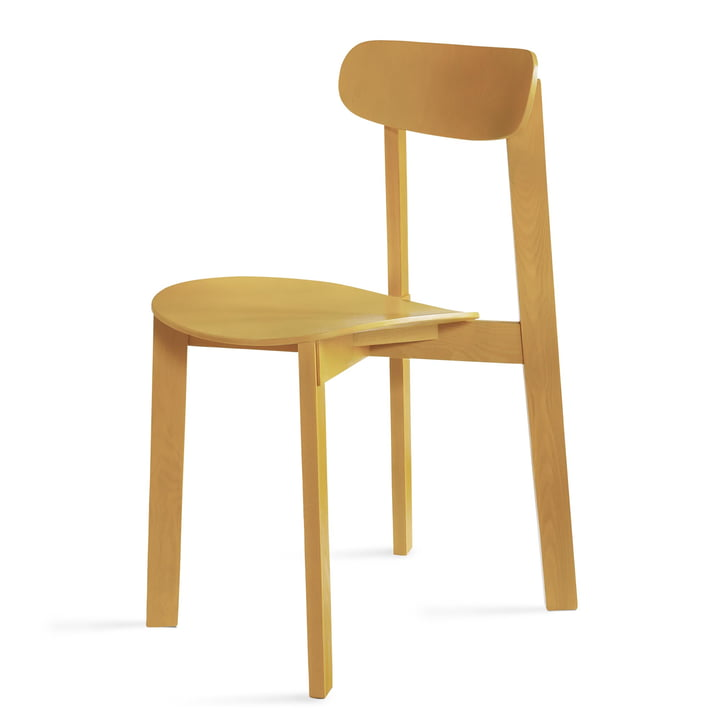 Bondi Chair in turmeric yellow from Please wait to be seated