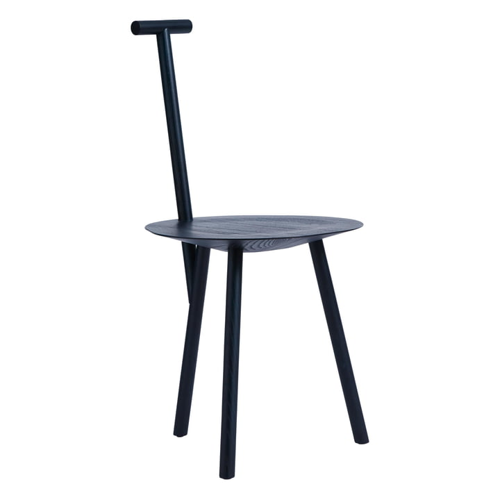 Spade Chair in navy blue by Please wait to be seated