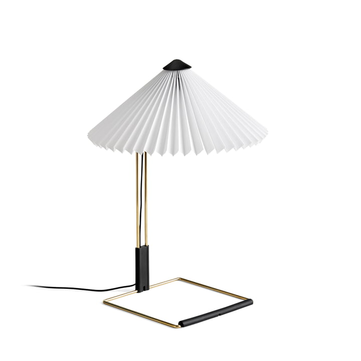 Matin LED table lamp S, white by Hay