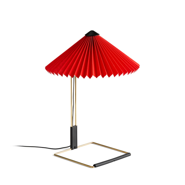 Matin LED table lamp S, bright red by Hay